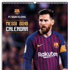 Coleccionismo deportivo: CALENDARIO BIMENSUAL - FC BARCELONA - FCB - AÑO 2019 MESSI - NUEVO PRECINTADO. Lote 159650514