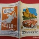 Coleccionismo deportivo: COPA MONTJUICH PARA AUTOMÓVILES SPORT. 1955. BARCELONA. LIBRETO-CATÁLOGO ORIGINAL. MBE. Lote 160321466
