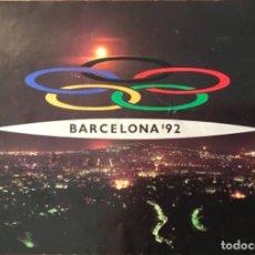Coleccionismo deportivo: TRIPTICO CANDIDATURA JUEGOS OLIMPICOS DE BARCELONA 92 6 PAGINAS 1985 CASTELLANO. Lote 163830830