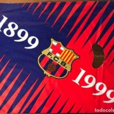 Coleccionismo deportivo: KIT DE LA CEREMONIA INAUGURAL DEL CENTENARI DEL FC BARCELONA ENTREGADO EN EL CAMP NOU. Lote 163957238