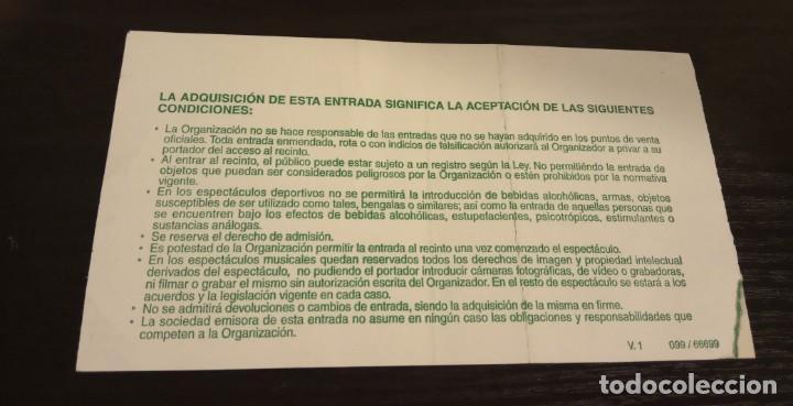 Coleccionismo deportivo: -ENTRADA BASKET BALONCESTO COPA REY DE BALONCESTO 2005 - SEMIFINAL - Foto 2 - 167630252