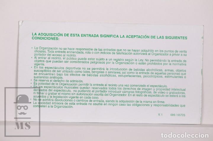 Coleccionismo deportivo: Entrada de Baloncesto Copa del Rey 2004 - Cuartos Final, Jornada 2 - Palacio Deportes, Sevilla - Foto 2 - 168890060