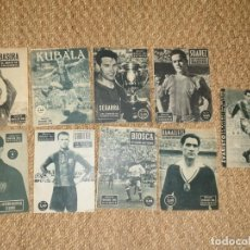 Coleccionismo deportivo: LOTE DE 9 IDOLOS DEL DEPORTE DEL FC BARCELONA BARÇA AÑOS 50 60. Lote 169260380