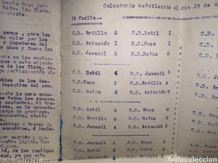 Coleccionismo deportivo: fichas del Campeonato de fútbol VI copa elche c. F. Campeonato local de equipos no federados 1954-55 - Foto 7 - 170020692