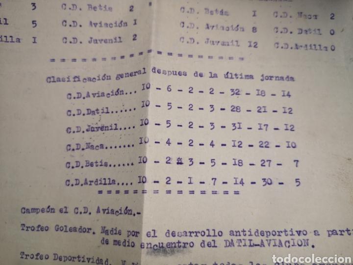 Coleccionismo deportivo: fichas del Campeonato de fútbol VI copa elche c. F. Campeonato local de equipos no federados 1954-55 - Foto 8 - 170020692