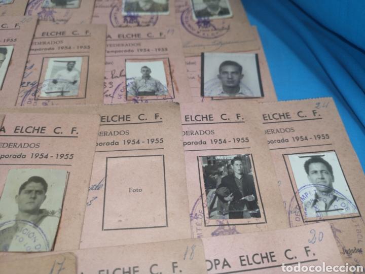 Coleccionismo deportivo: fichas del Campeonato de fútbol VI copa elche c. F. Campeonato local de equipos no federados 1954-55 - Foto 33 - 170020692