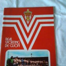 Coleccionismo deportivo: 87-MEMORIA REAL SPORTING DE GIJON 1976/77. Lote 170447432