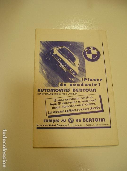 Coleccionismo deportivo: PROGRAMA oficial FUTBOL.VALENCIA C.F.-Bohemians ckd Praga. Copa UEFA.campeonato de europa.1981. - Foto 13 - 171274013