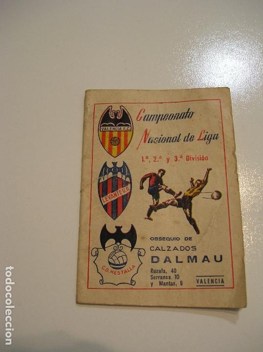 Fci Calendario.Calendario Guia Campeonato Nacional Liga 1959 1 Sold At