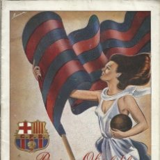 Coleccionismo deportivo: PROGRAMA OFICIAL DEL C DE F BARCELONA BARCELONA CORUÑA 26 SEPTIEMBRE 1948. Lote 172395264