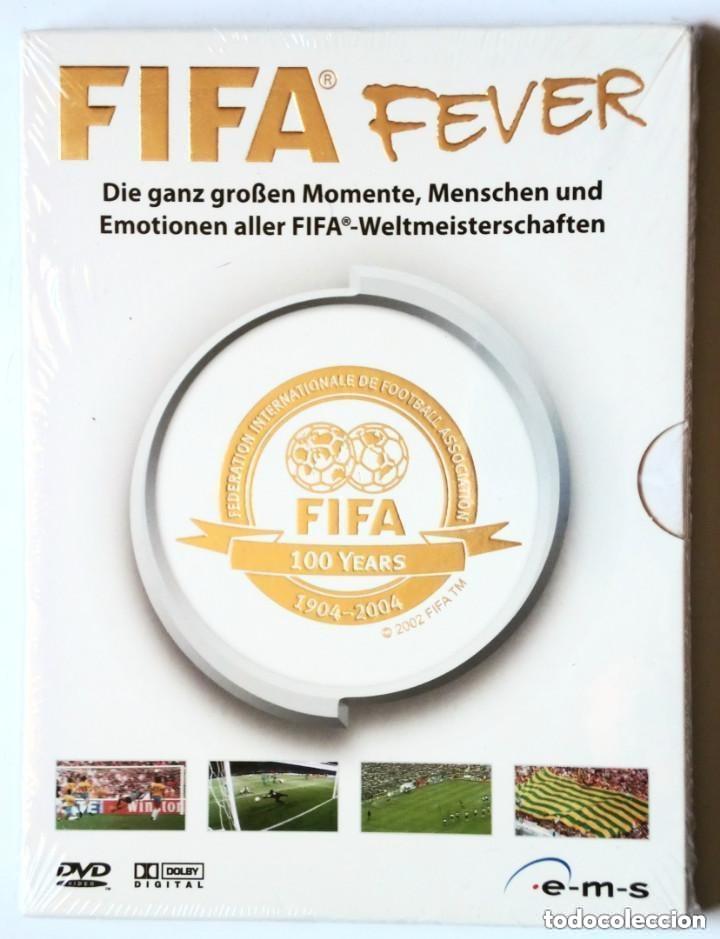 2 X DVD - FIFA FEVER - FIFA 100 YEARS 1904-2004 - EN ALEMÁN / DEUTSCH - (Coleccionismo Deportivo - Documentos de Deportes - Otros)