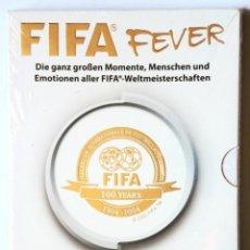 Coleccionismo deportivo: 2 X DVD - FIFA FEVER - FIFA 100 YEARS 1904-2004 - EN ALEMÁN / DEUTSCH - . Lote 172672607