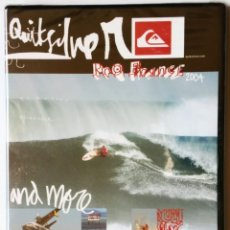 Coleccionismo deportivo: DVD - QUICKSILVER PRO FRANCE 2004 AND MORE - SURF, SURFING, SKATEBOARD, EXTREME SPORTS . Lote 172672764