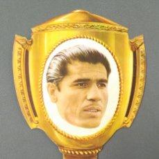 Coleccionismo deportivo: ANTIGUO ABANICO AÑOS 50 CARTON - GAINZA - PERFECTO ESTADO!!. Lote 173265585