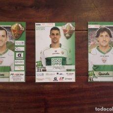 Coleccionismo deportivo: 3 POSTALES ELCHE CLUB DE FUTBOL. Lote 173429849