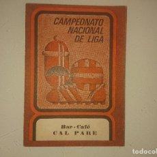 Coleccionismo deportivo: CALENDARIO DE PARTIDOS DE FUTBOL DE 1º DIVISION 1972-1973 Y REGIONAL PREFERENTE , LEER. Lote 173859385