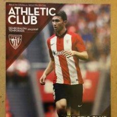 Coleccionismo deportivo: ATHLETIC CLUB 3 - 2 VILLARREAL CF. PROGRAMA OFICIAL PARTIDO OCTAVOS FINAL COPA REY. Lote 173882455