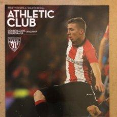 Coleccionismo deportivo: ATHLETIC CLUB 0-0 VILLARREAL CF. PROGRAMA OFICIAL PARTIDO JORNADA 23 TEMPORADA 2015/16. Lote 173882672