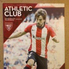 Coleccionismo deportivo: ATHLETIC CLUB 2-1 RCD ESPANYOL. PROGRAMA OFICIAL PARTIDO JORNADA 11 TEMPORADA 2015/16. Lote 173882877