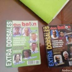 Coleccionismo deportivo: EXTRA DORSALES DON BALON. AÑO 2001-02. LOTE 6 EJEMPLARES.. Lote 175119328