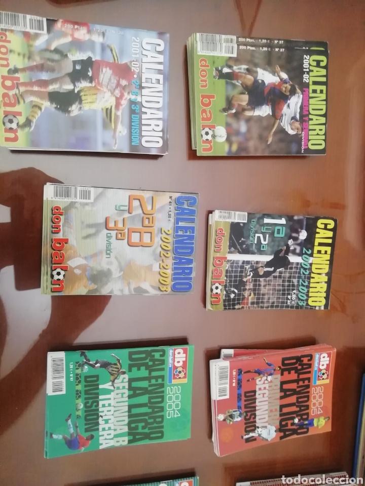 Coleccionismo deportivo: Calendario liga Don balon 2 B y 3 división. Año 2001 2002. 8 ejemplare - Foto 2 - 175119754