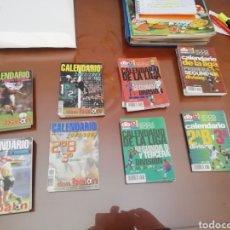Coleccionismo deportivo: CALENDARIO 1 DIVISIÓN DON BALON. AÑO 2001 02. LOTE DE 6.. Lote 175120107