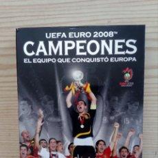 Coleccionismo deportivo: CAMPEONES - UEFA EURO 2008 - 4 DVD - EL EQUIPO QUE CONQUISTO EUROPA. Lote 175127647