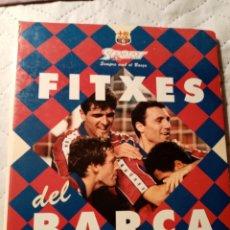 Coleccionismo deportivo: 27 FITXES DEL BARCA SPOT BANCA CATALANA. Lote 175540867