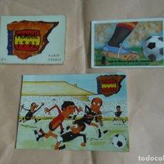 Coleccionismo deportivo: LOTE MUNDIAL 82 . Lote 176849117