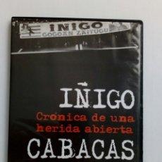 Coleccionismo deportivo: DVD - IÑIGO CABACAS, CRONICA DE UNA HERIDA ABIERTA - DOCUMENTAL DE KARLOS TRIJUEQUE - ATHLETIC CLUB. Lote 177187907