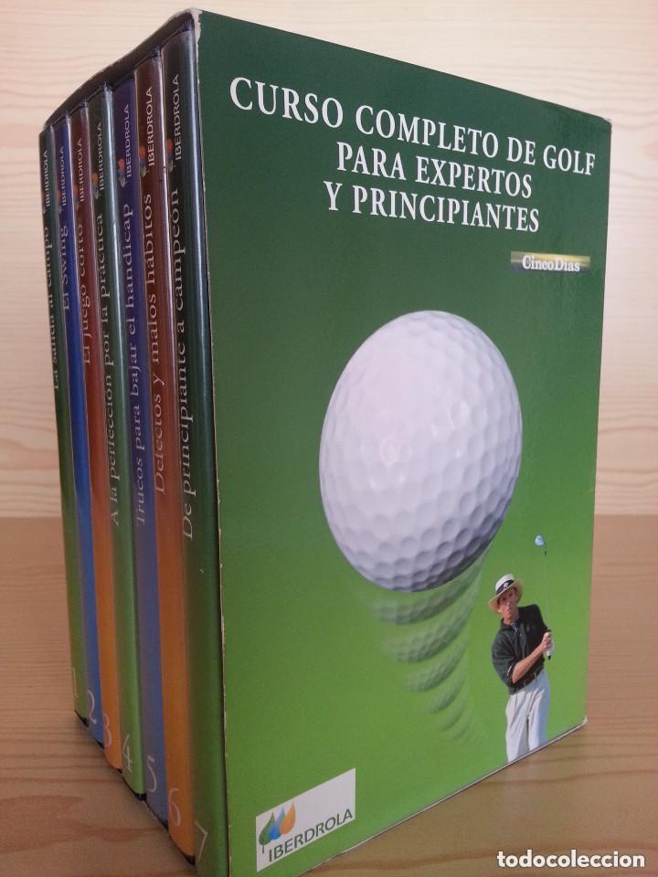 CURSO COMPLETO DE GOLF PARA EXPERTOS Y PRINCIPIANTES - 7 DVD - ESTUCHE (Coleccionismo Deportivo - Documentos de Deportes - Otros)