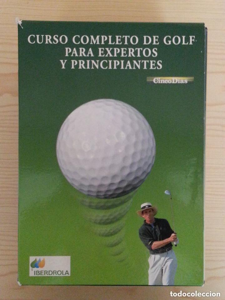 Coleccionismo deportivo: CURSO COMPLETO DE GOLF PARA EXPERTOS Y PRINCIPIANTES - 7 DVD - ESTUCHE - Foto 2 - 177577352