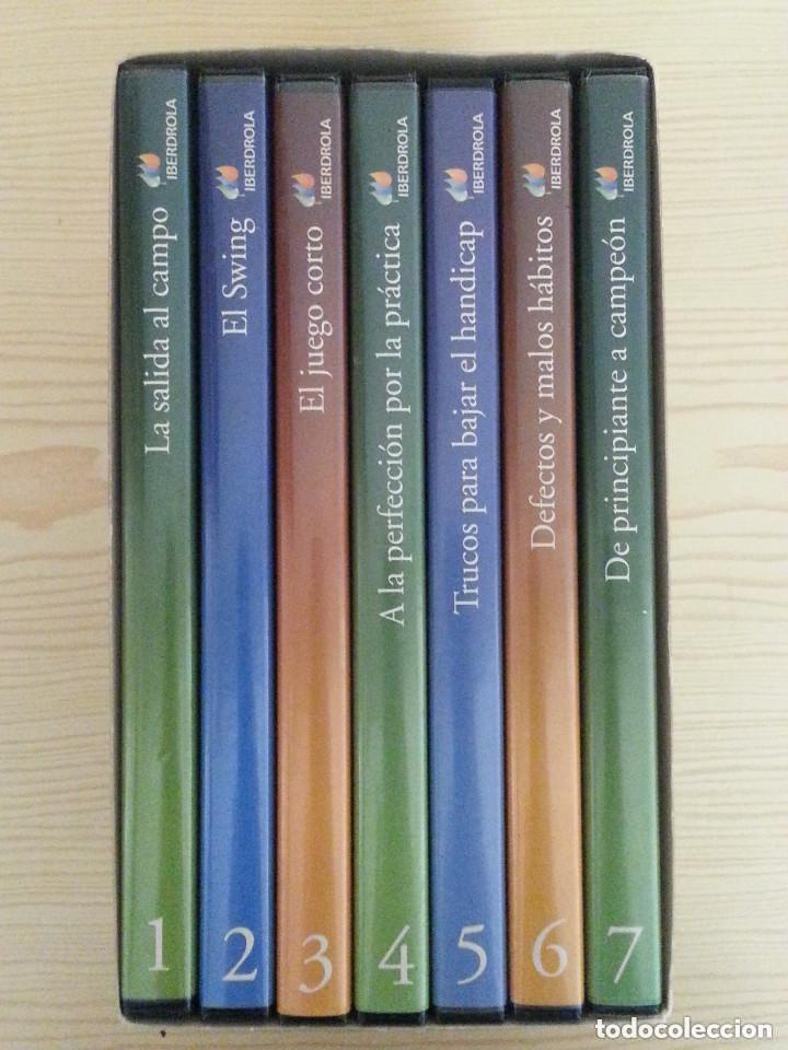 Coleccionismo deportivo: CURSO COMPLETO DE GOLF PARA EXPERTOS Y PRINCIPIANTES - 7 DVD - ESTUCHE - Foto 3 - 177577352