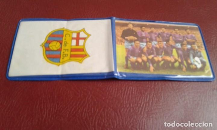 ANTIGUA CARTERA SIN USO DEL BARCELONA F.C. -CARTERA BARCA -NUEVA (Coleccionismo Deportivo - Documentos de Deportes - Otros)