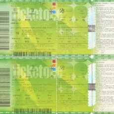 Coleccionismo deportivo: BALONCESTO ENTRADAS FINAL FOUR MILAN 2014 SEMIFINAL REAL MADRID 100 BARCELONA 62 . Lote 177779205