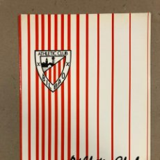 Coleccionismo deportivo: CARPETA OFICIAL ORIGINAL DE PRENSA. ATHLETIC CLUB 0-1 R. VALLADOLID JORNADA 9, LIGA 1990-91. SIN USO. Lote 178352301