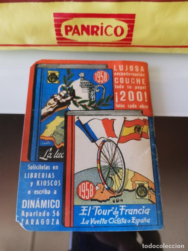 Coleccionismo deportivo: CALENDARIO LIGA FÚTBOL EDICIONES DINÁMICO 1958 1959 - Foto 5 - 178830760
