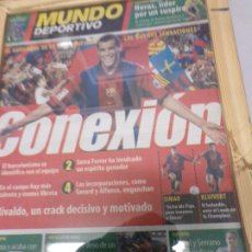 Coleccionismo deportivo: DIARIO MUNDO DEPORTIVO 11 SEPTIEMBRE 2000 CONEXIÓN . Lote 178853885