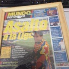 Coleccionismo deportivo: DIARIO MUNDO DEPORTIVO 20 MARZO 2000 ASALTO A LA LIGA . Lote 178858811