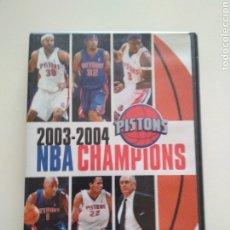 Coleccionismo deportivo: DVD NBA DETROIT PISTONS CHAMPIONS 2003-2004. Lote 179060181