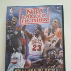 Coleccionismo deportivo: DVD NBA FURIOUS FINISHES. Lote 179060350