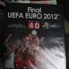 Coleccionismo deportivo: DVD FINAL EUROCOPA 2012 EURO UEFA CUP ESPAÑA 4 ITALIA 0 PRECINTADO SIN ABRIR. Lote 180421221