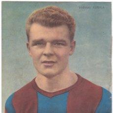 Coleccionismo deportivo: FOTOGRAFÍA LADISLAO KUBALA - BUENA JUGADA PUBLICIDAD VERMUT MARTINI - AÑOS 1950.... Lote 182307725