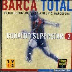 Coleccionismo deportivo: CD PC ORDENADOR BARÇA TOTAL ENCICLOPEDIA BARCELONA FUTBOL Nº2. Lote 182757591