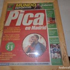 Coleccionismo deportivo: DIARIO MUNDO DEPORTIVO 27 MARZO 2000 PICA EN MADRID . Lote 182891472