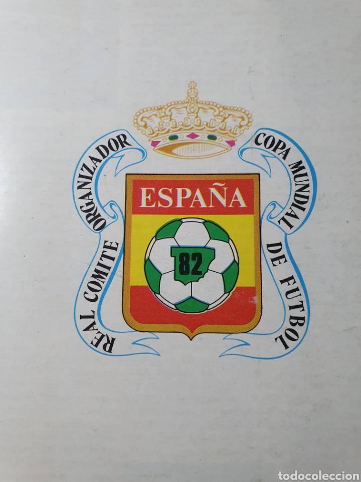 Coleccionismo deportivo: Boletín del RCOE España 82 - Copa Mundial de Fútbol 1982 - Foto 3 - 183014233