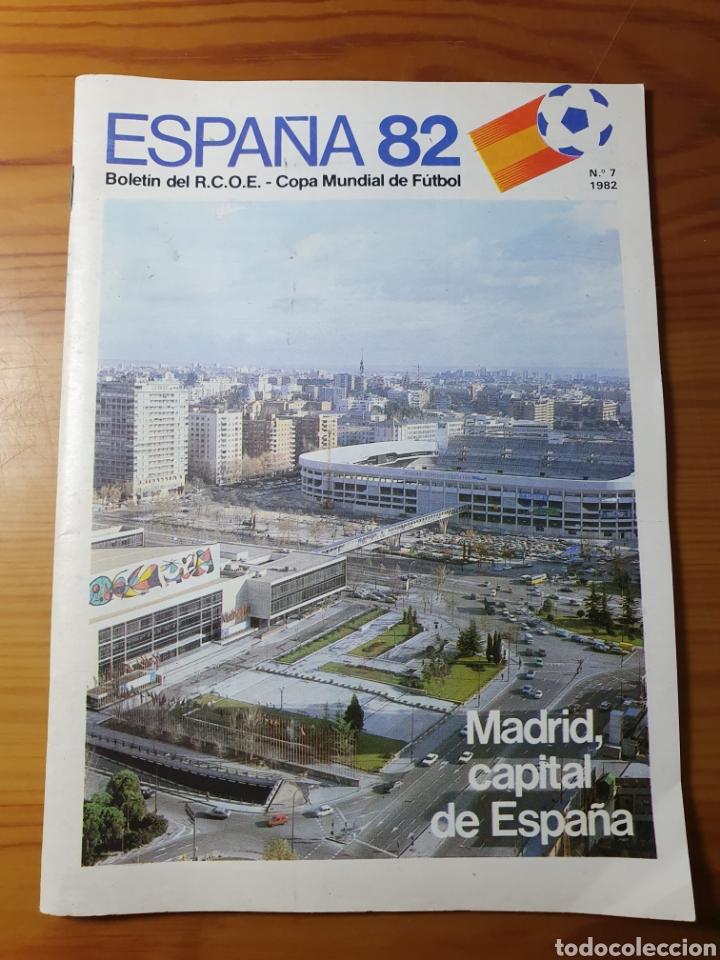 BOLETÍN DEL RCOE ESPAÑA 82 - COPA MUNDIAL DE FÚTBOL 1982 (Coleccionismo Deportivo - Documentos de Deportes - Otros)