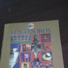 Coleccionismo deportivo: LOS TESOROS DEL BARÇA 1899-1999. Lote 184108377