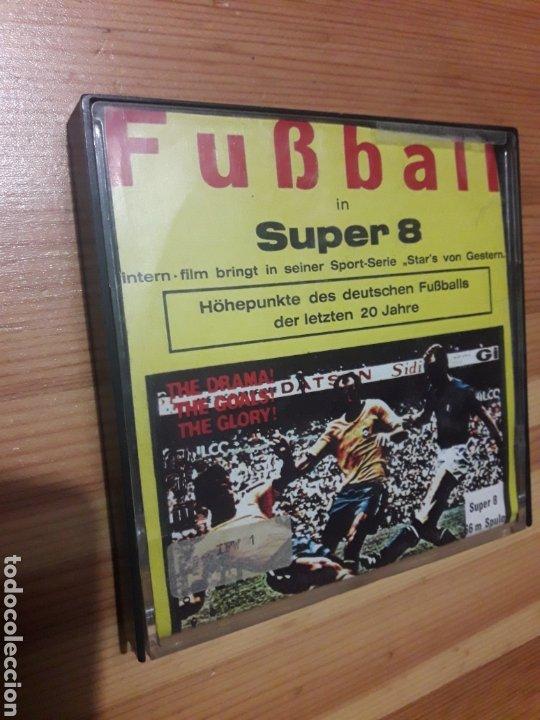 INGLATERRA ALEMANIA COPA MUNDIAL FUTBOL MEXICO 1970 GERMANY ENGLAND PELICULA SUPER 8 66M (Coleccionismo Deportivo - Documentos de Deportes - Otros)