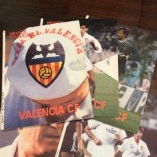 Coleccionismo deportivo: VALENCIA CF COLECCIÓN 5 FASCÍCULOS EQUIPOS CON HISTORIA. Lote 184850138